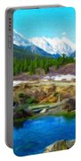 Nature Landscape Oil Portable Battery Charger