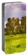Landscape Oil Painting Nature Portable Battery Charger