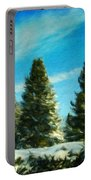 Nature Art Original Landscape Paintings Portable Battery Charger