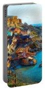 Nature Landscape Oil Portable Battery Charger