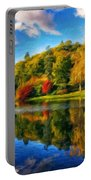Nature Landscape Painting Portable Battery Charger