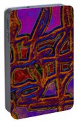 1554 Abstract Thought Portable Battery Charger