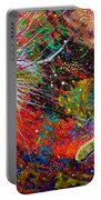 16-9 Red Star Burst Portable Battery Charger
