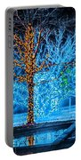 Christmas Season Decorations And Lights At Gardens Portable Battery Charger