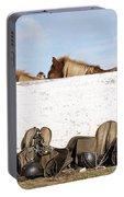 162669 Horse Walls Animals National Geographic Portable Battery Charger