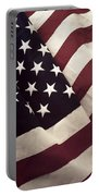 American Flag Portable Battery Charger