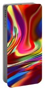 1697 Abstract Thought Portable Battery Charger