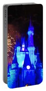 Cinderella Castle Portable Battery Charger