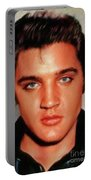 Elvis Presley, Rock And Roll Legend Portable Battery Charger