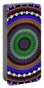 Mandala Ornament Portable Battery Charger