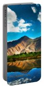 Nature Landscape Wall Art Portable Battery Charger