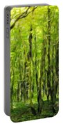 Nature Oil Painting Landscape Portable Battery Charger
