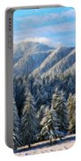Nature Original Landscape Painting Portable Battery Charger
