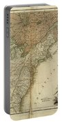 1783 United States Of America Map Portable Battery Charger
