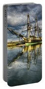 1797 Trading Ship Replica - Friendship Of Salem Portable Battery Charger