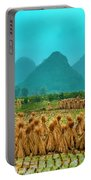 Beautiful Countryside Scenery In Autumn Portable Battery Charger