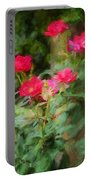 Knockout Roses Painted  Portable Battery Charger