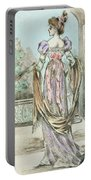 1803 Paris France Fashion Drawing Portable Battery Charger