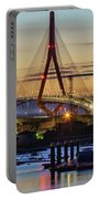 1812 Constutition Bridge From Rio San Pedro Puerto Real Spain Portable Battery Charger