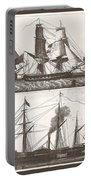 1850 European Sailing Ship Portable Battery Charger