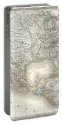 1858 Dufour Map Of The United States  Portable Battery Charger