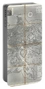 1866 Fornari Pocket Map Or Case Map Of Rome Italy Portable Battery Charger
