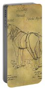 1868 Horse Harness Patent Portable Battery Charger