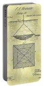 1869 Fishing Net Patent Portable Battery Charger