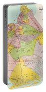 1869 King County Map Portable Battery Charger