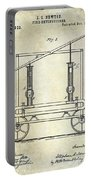 1875 Fire Extinguisher Patent Portable Battery Charger