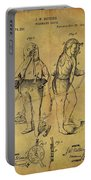 1876 Fireman's Suit Portable Battery Charger