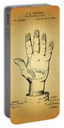 1878 Corn Husking Glove Patent Portable Battery Charger