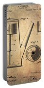 1889 Coffee Maker Patent Portable Battery Charger