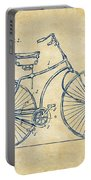1890 Bicycle Patent Minimal - Vintage Portable Battery Charger