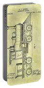 1891 Locomotive Patent Portable Battery Charger