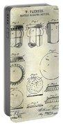 1892 Bottle Cap Patent  Portable Battery Charger