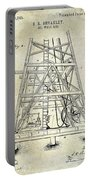 1893 Oil Well Rig Patent Portable Battery Charger