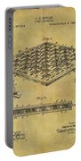 1896 Chess Set Patent Portable Battery Charger