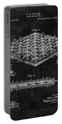 1896 Chessboard Patent Portable Battery Charger