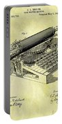 1896 Typewriter Patent Portable Battery Charger