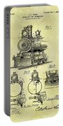 1898 Locomotive Patent Portable Battery Charger