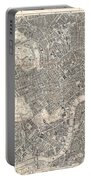 1899 Bacon Pocket Plan Or Map Of London  Portable Battery Charger