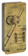 1899 Fishing Reel Patent Portable Battery Charger