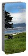 18th At Pebble Beach Horizontal Portable Battery Charger