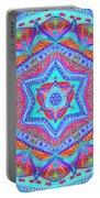 Birth Mandala- Blessing Symbols Portable Battery Charger