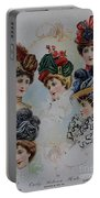 19 Century Ladies Hats The Delineator Early Autumn Hats Portable Battery Charger