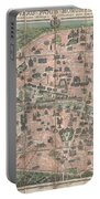 1900 Garnier Pocket Map Or Plan Of Paris France  Eiffel Tower And Other Monuments  Portable Battery Charger