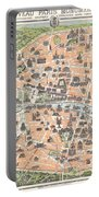 1900 Garnier Pocket Map Or Plan Of Paris France Eiffel Tower  Portable Battery Charger