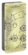 1901 Automatic Revolver Patent Portable Battery Charger