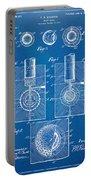 1902 Golf Ball Patent Artwork - Blueprint Portable Battery Charger
